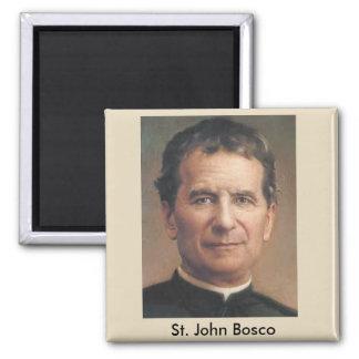 Saint John Bosco Portrait Magnet