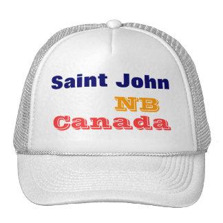 Saint John NB Canada Cap