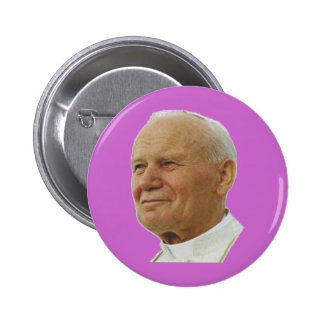 Saint John Paul II Buttons