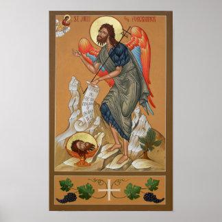 Saint John the Forerunner Poster