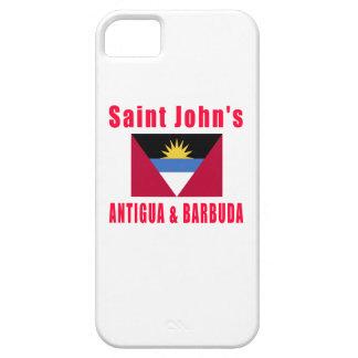 Saint John's  Antigua & Barbuda capital designs iPhone 5 Case