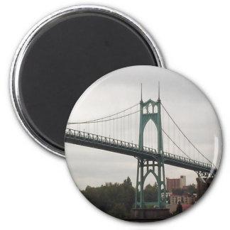 Saint Johns Bridge Magnet