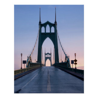 Saint Johns Bridge Poster