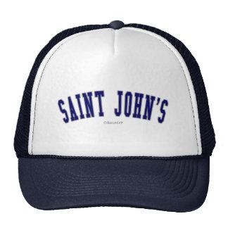 Saint John's Cap