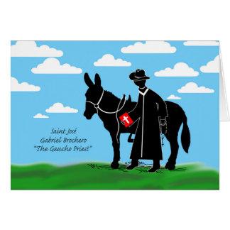 Saint José Gabriel Brochero, The Gaucho Priest Card
