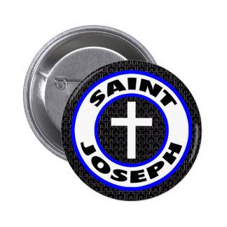 Saint Joseph 6 Cm Round Badge