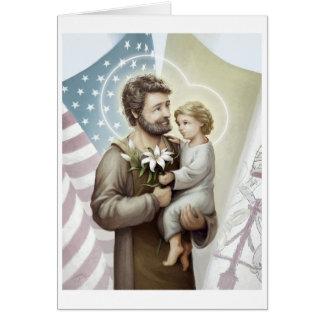 Saint Joseph the Protector Card