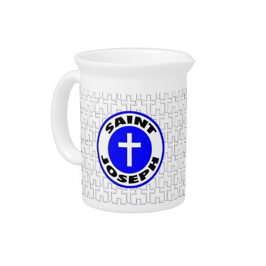 Saint Joseph the Worker Beverage Pitchers