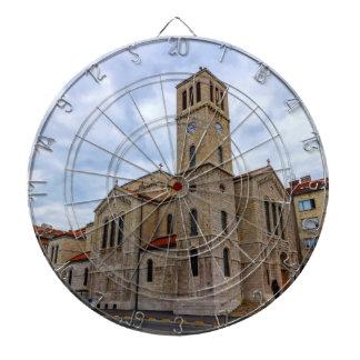 Saint Joseph's Church in Sarajevo. Bosnia and Herz Dartboard
