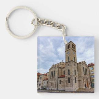 Saint Joseph's Church in Sarajevo. Bosnia and Herz Key Ring