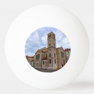 Saint Joseph's Church in Sarajevo. Bosnia and Herz Ping Pong Ball
