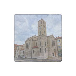 Saint Joseph's Church in Sarajevo. Bosnia and Herz Stone Magnet