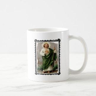 SAINT JUDE CATHOLIC 12 CUSTOMIZABLE PRODUCTS COFFEE MUGS