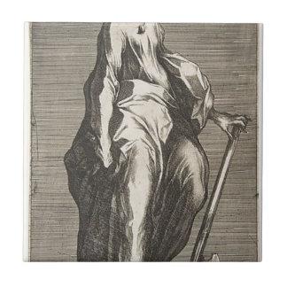 Saint Jude (or Saint Matthias) Tile