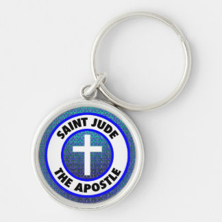 Saint Jude the Apostle Key Ring