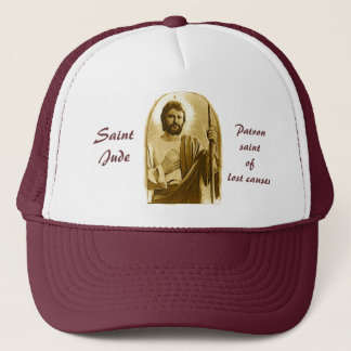 Saint Jude Trucker Hat