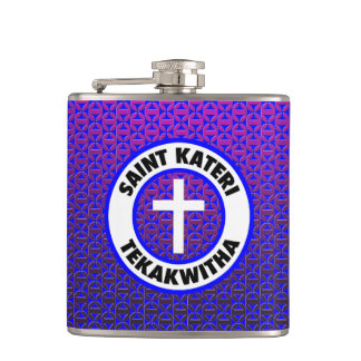 Saint Kateri Tekakwitha Hip Flask