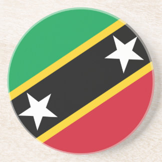 Saint Kitts and Nevis Flag Coaster