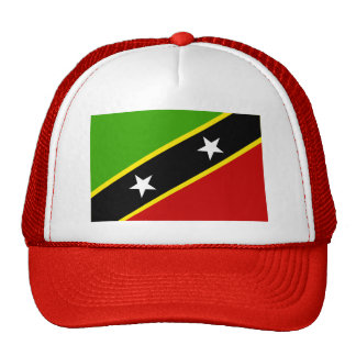 Saint Kitts And Nevis Flag Hats