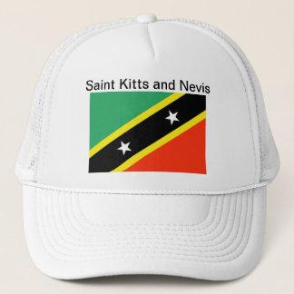 Saint Kitts and Nevis Flag Hat