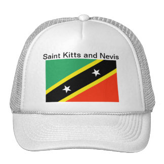 Saint Kitts and Nevis Flag Hat