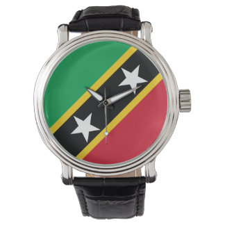 Saint Kitts and Nevis Flag Watch