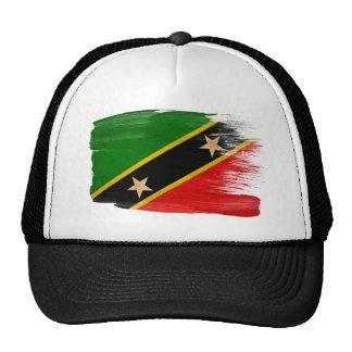 Saint Kitts Nevis Flag Trucker Hat