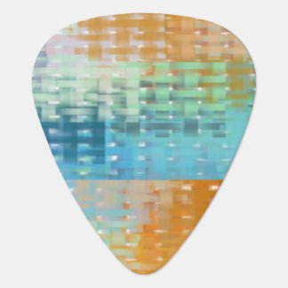 Saint Kitts Weave standard guitar pick