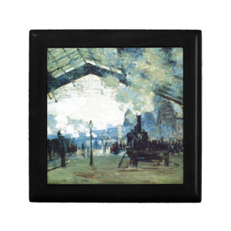 Saint-Lazare Gare, Normandy Train by Claude Monet Gift Box