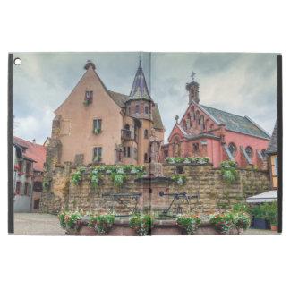 "Saint-Leon fountain in Eguisheim, Alsace, France iPad Pro 12.9"" Case"