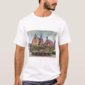 Saint-Leon fountain in Eguisheim, Alsace, France T-Shirt