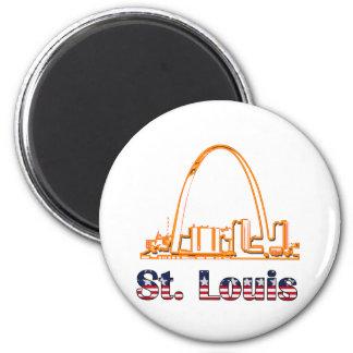Saint Louis Arch Fridge Magnets