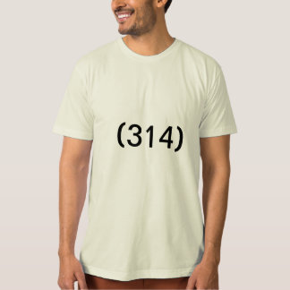 Saint Louis Area Code T-Shirt