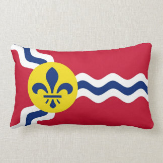 Saint Louis flag Lumbar Cushion