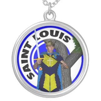 Saint Louis IX King of France Pendants