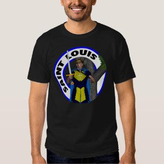 Saint Louis IX King of France T Shirts