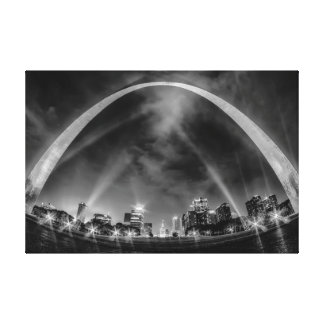 Saint, Louis Missouri Arch Canvas Print