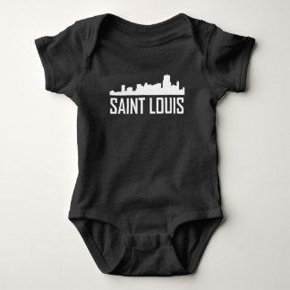 Saint Louis Missouri City Skyline Baby Bodysuit