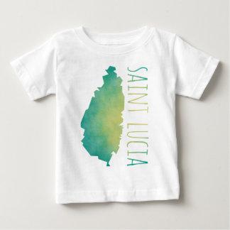 Saint Lucia Baby T-Shirt