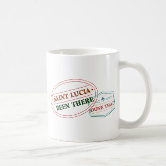 Saint Lucia Been There Done That Coffee Mug