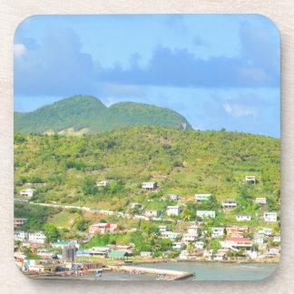 Saint Lucia Beverage Coaster