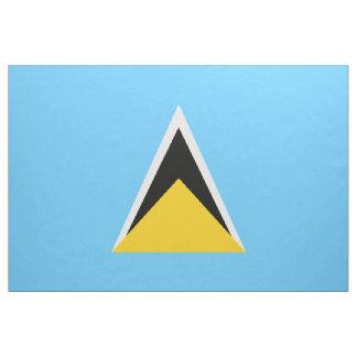 Saint Lucia Flag Fabric
