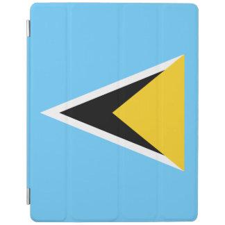 Saint Lucia Flag iPad Cover