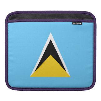 Saint Lucia Flag iPad Sleeves