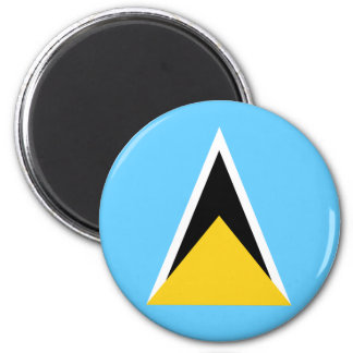 Saint Lucia Flag Magnet