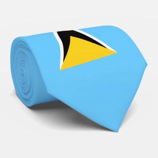 Saint Lucia Flag Tie