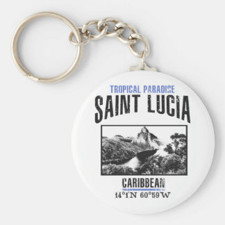 Saint Lucia Key Ring
