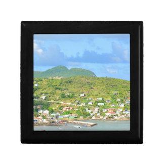 Saint Lucia Small Square Gift Box