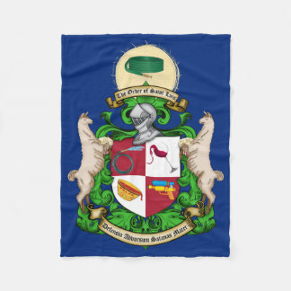 Saint Luis Coat of Arms Fleece Blanket