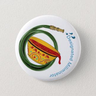 Saint Luis' Garden Hose & Salsa Button